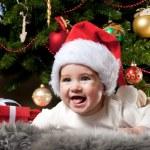 Baby santa — Stock Photo #8601160
