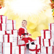 Little santa — Stock Photo #8601174