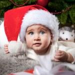 Baby santa — Stock Photo #8601212