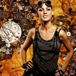 Steampunk girl  — Foto de Stock