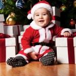 Baby santa — Stock Photo #8601886