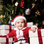 Baby santa — Stock Photo #8601890