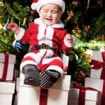 Baby santa — Stock Photo #8601892