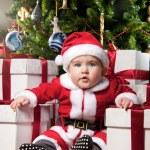Baby santa — Stock Photo #8601899
