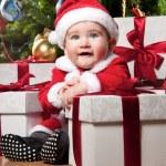 Baby santa — Stock Photo #8601908