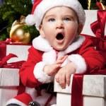 Baby santa — Stock Photo #8601910