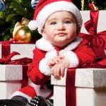Baby santa — Stock Photo #8601912
