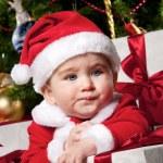 Baby santa — Stock Photo #8601914