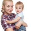 Mother with son — Stock Photo #8601916