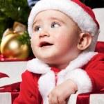 Baby santa — Stock Photo #8601917