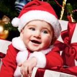 Baby santa — Stock Photo #8601920