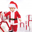 Royalty-Free Stock Photo: Baby santa