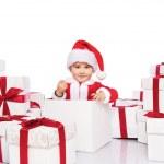 Baby santa — Stock Photo #8602415
