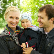 Family outdoor — Stock Photo #8602629