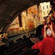 Venetian woman — Stock Photo
