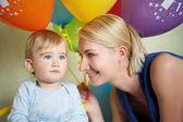 1 year birthday — Foto de Stock