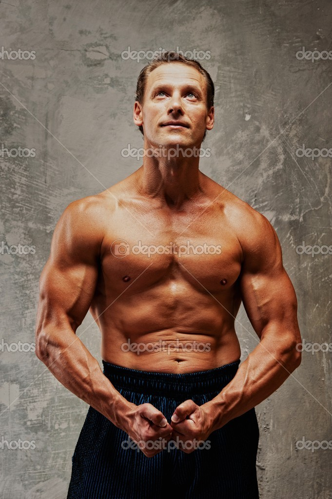 Handsome muscular man — Stock Photo #8601575