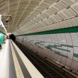 Underground metro station — Stock Photo