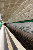 Underground metro station — Stock Photo