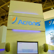 Royalty-Free Stock Photo: HANNOVER, GERMANY - MARCH 5: stand of the Acronis on March 5, 2011 in CEBIT