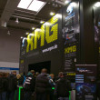 HANNOVER, GERMANY - MARCH 5: stand of the XMG on March 5, 2011 in CEBIT com — Stock Photo