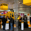 Stock Photo: HANNOVER, GERMANY - MARCH 10: stand of ADAC on March 10, 2012 in CEBIT computer expo, Hannover, Germany. CeBIT is world's largest computer expo.