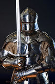 Image of knight — Stock Photo