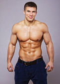 Image of muscle man — Foto de Stock