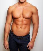 Imafe of sexy man torso — Stock Photo