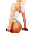 Image of sexy athletic woman — Stock Photo #9194041