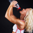Image of sexy athletic woman - Stock Photo