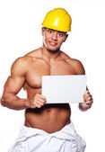 Image of sexy worker — Stock Photo