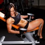 Image of muscle women — Stock Photo #9803207