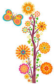 Flower tree — Stock Photo