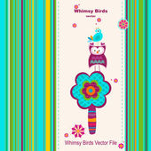 Greeting card — Wektor stockowy