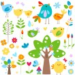 Royalty-Free Stock Vector Image: Spring