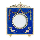 Old antique ornate frame. Isolated image. — Stock Photo
