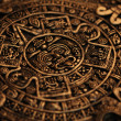 Ancient Mayan Calendar - Stock Photo