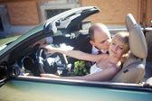 Couple nouvellement marié — Photo