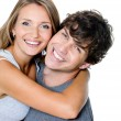 Portrait of a happy couple — Stock Photo #9182174