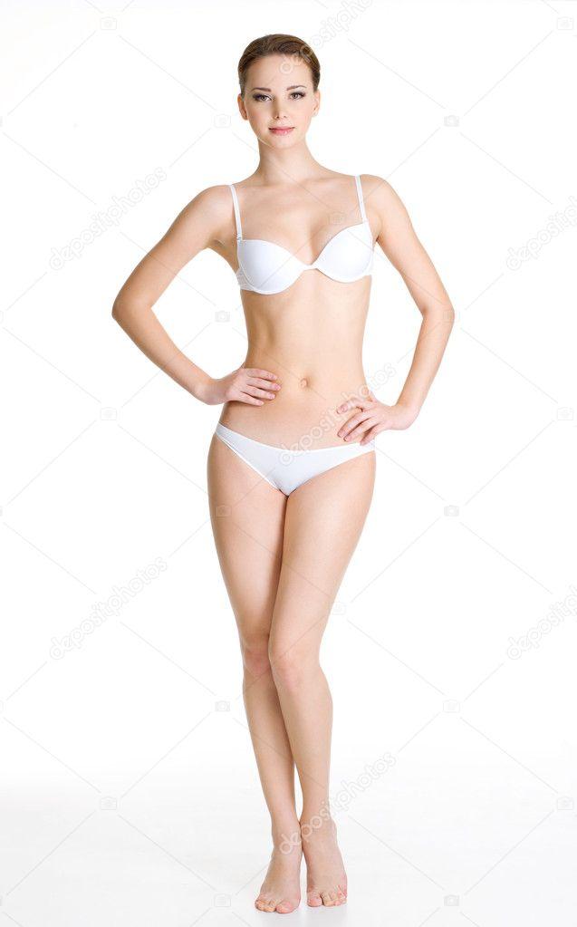 Ladys cuerpo luciendo sexy