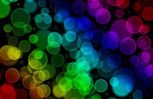 Glitter of color christmas lighting background — Stock Photo