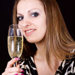 Classy Party Girl — Stock Photo