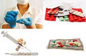 Médico y la medicina — Foto de Stock