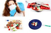 Medico e la medicina — Foto Stock