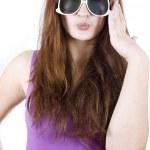 Woman in sunglasses — Stock Photo #9123229