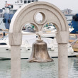 Ships old bronze bell — Stock Photo