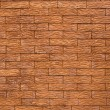 Stock Photo: Painted brick wall canvas background.
