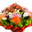 Stock Photo: Big bouquet of flowers