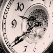 Stock Photo: Antique watches. The clock stopped at the time